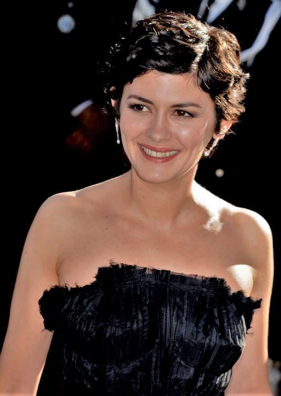 Audrey Tautou choosing color for olive skin tone lifestylemajor