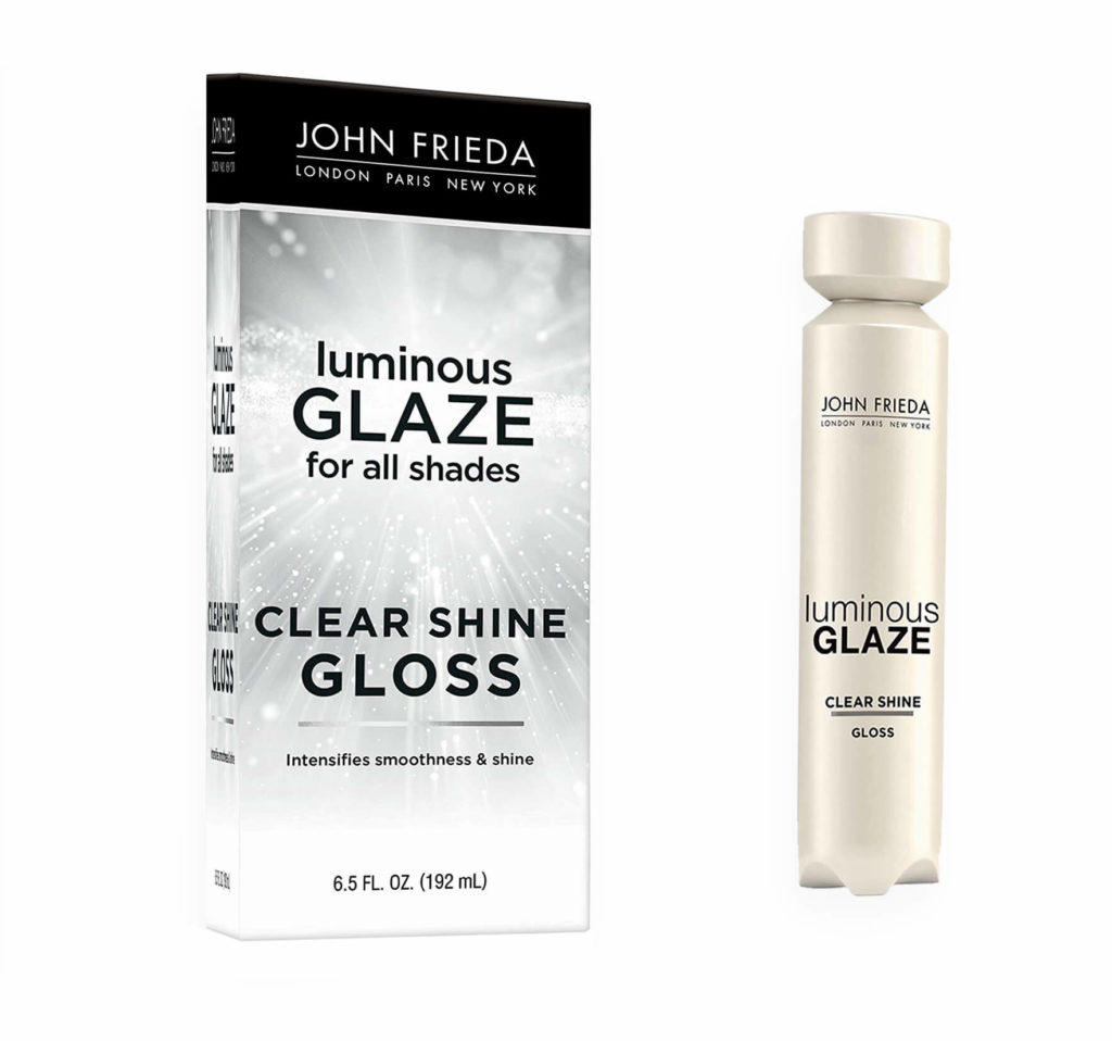 John Frieda Luminous Glaze Clear Shine Gloss Shampoo for fair skin tone Lifestyle major