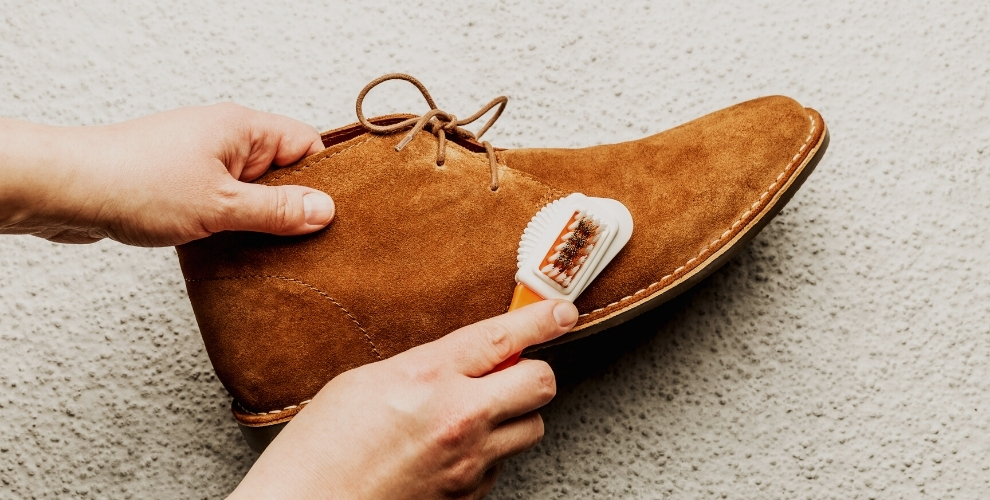 Cleaning Faux Suede Shoes at home lifestyle major