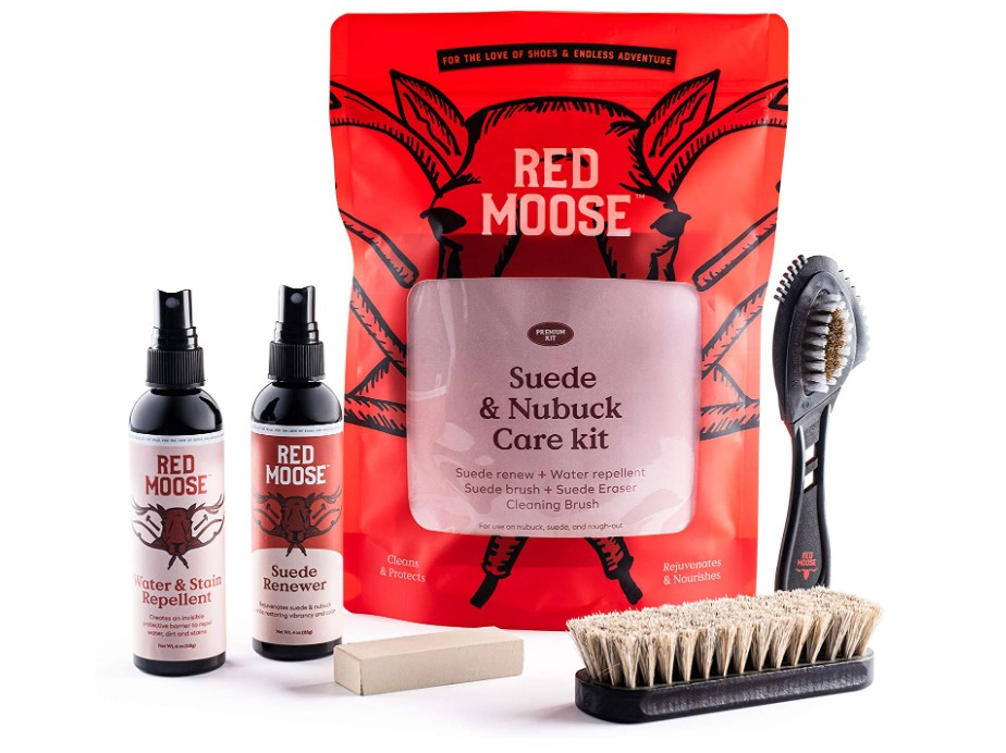 Red Moose Suede and Nubuck Cleaner Kit review