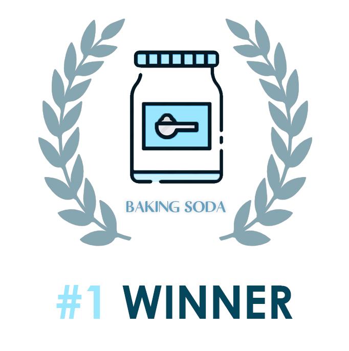 Bleach vs Baking Soda to clean white shoes Baking Soda wins