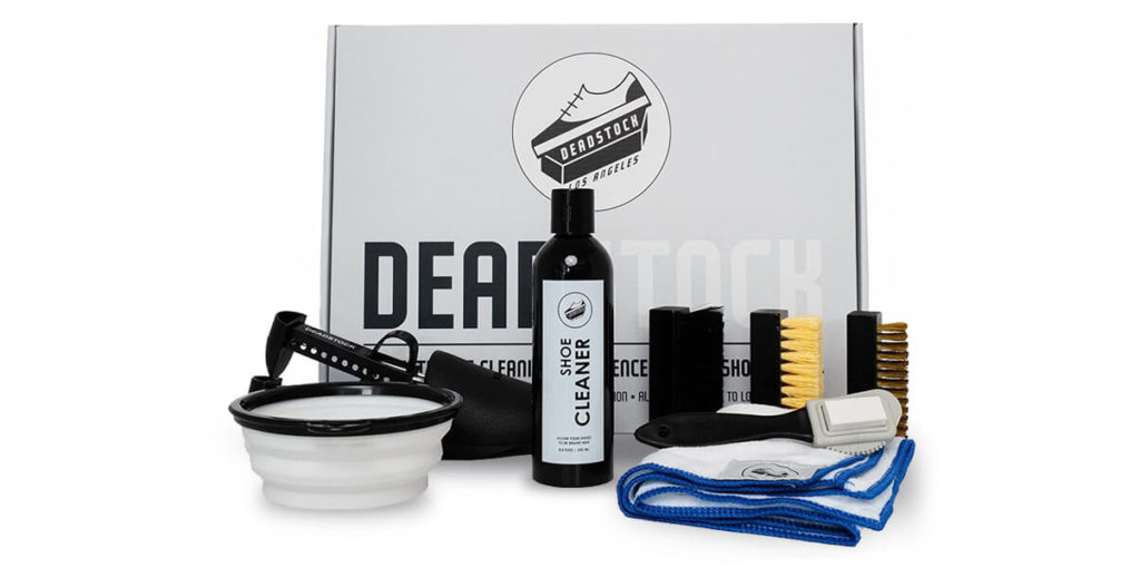 Deadstock Shoe Cleaner Kit to remove stains from shoe lifestyle major