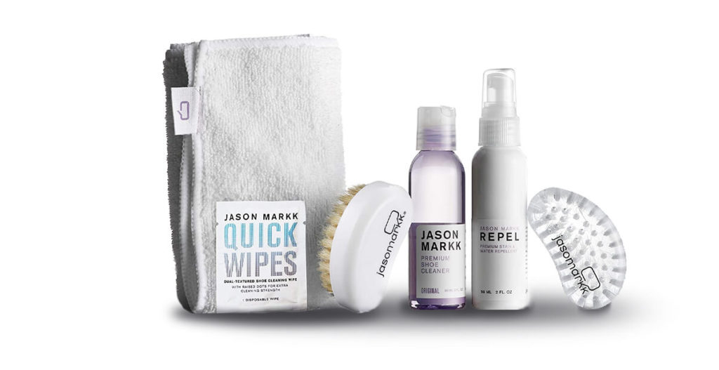 Jason Markk Shoe Cleaner Starter Kit to remove stains from shoe lifestyle major