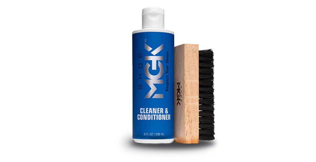 Shoe MGK Cleaner Kit to remove stains from shoe lifestyle major